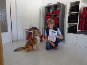 Nathalie Gruber mit Bailee